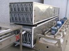 Belt IQF freezer for shrimp Car