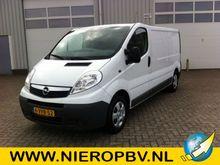 2012 Opel Vivaro AIRCO NAVI