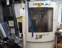 2002 Mikron HSM 400 / Single Pa