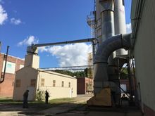 Jamestown, NY dust system unloa
