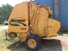 2011 VERMEER 505M CLASSIC