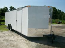 Enclosed Cargo Trailer & Car Ha