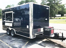 16 foot Concession Trailer Full