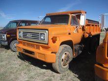 1988 Chevy C70 S/A Dump Truck #