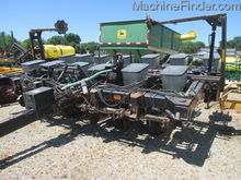 Black Machine 13 row planter