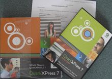 2007 Quark QuarkXPress 7 mit Up