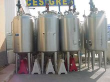 Used Jacketed Tank w