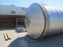 Tank made in stainless steel of