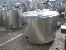 TGA Milk tank in stainless Stee