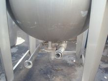 Tank double bottom in stainless