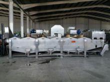 Pasteurizador de túnel en acero