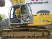 2007 New Holland E215B Track ex