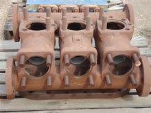 Oilwell 46P steel fluid end