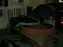 Oilwell 546 skid for pump