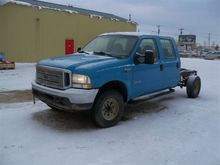 2004 Ford F350 CAB AND CHASSIS