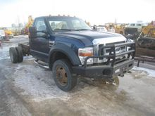 2008 Ford F550 CAB AND CHASSIS