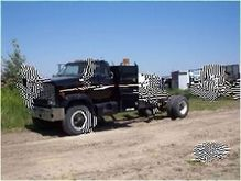 1981 GMC S/A CAB & CHASSIS TRUC