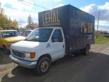 2006 Ford E450 S/A VAN TRUCK