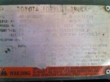 1997 Toyota 42-6FGCU20 Counter