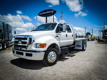 2008 FORD F-650XLT Flatbed Truc