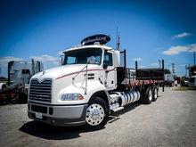 2012 MACK CXU613 Flatbed Truck