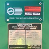 2006 WHISPERWATT DCA400SSK