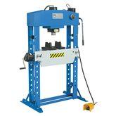 Manual and pneumatic hydraulic
