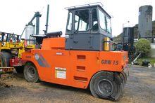 Compactador de Llantas Hamm GRW