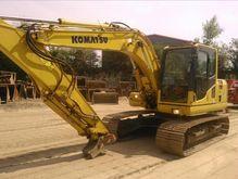 Excavadora Komatsu Pc 130-8 año