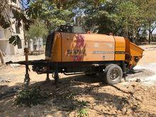 Bomba de concreto Sany HBT 40 2