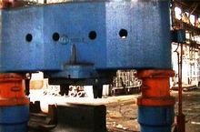 Demag 2000 t Forging presses