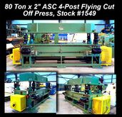 ASC MACHINE TOOLS, INC 80 Ton x