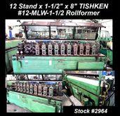 1968 12 Stand x 1-1/2″ x  8″ TI