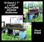 "ROLLFORM DESIGN 10 Stand x 1"" x"