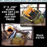 5″ (127mm) x .250″ (6.3mm) ALPH