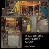 "TISHKEN CO-10-4HA1 25 Ton x 3"""
