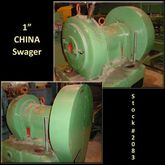 """CHINA 1"""" Swager"""