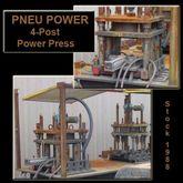 15 Ton PNEU POWER #4P-20, 4-Pos