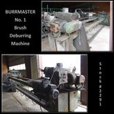 BURRMASTER #1 Brush Deburring M