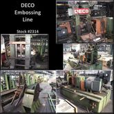 "DECO MACHINERY 7-3/8"" x 7"" Embo"