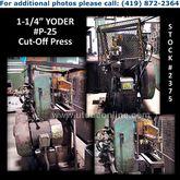 """YODER P-25 1-1/4"""" (31.75mm) x ."""