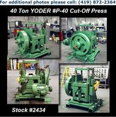 "YODER P-50 50 Ton x 4"" 4-Post C"