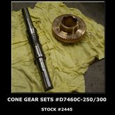 CONE Gear Sets #D7460C-250/300