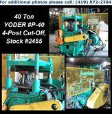 "YODER P-40 40 Ton x 3"" 4-Post C"
