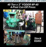 "YODER P-40 40 Ton x 2"" 4-Post C"