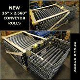 "26"" Conveyor Rollers"