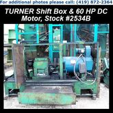 TURNER X20M2-187 Shift Box & 60