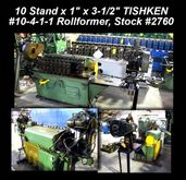 Used 10 Stand x 1″ x