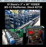 "1980 YODER M2-1/2 15 Stand x 3"""