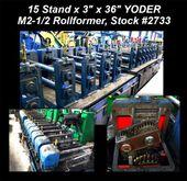 15 Stand x 3″ x 36″ YODER M2-1/
